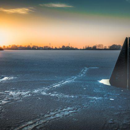 Skulptur am Einfelder See, Neumünster