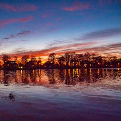 Abends am Einfelder See